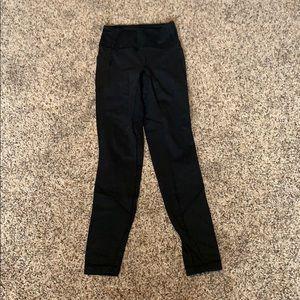 Pants - Lululemon black mesh tights size 4